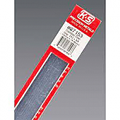 K&S Engineering 87153 All Scale - 0.012 inch Thick Stainless Steel Flat Strip - 3/4inch x 12inch
