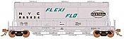 Rapido 133002-6 - HO ACF PD3500 Flexi Flo Hopper - NYC As Delivered (941H) - In Service 1964 #885823