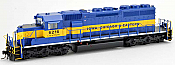 Bowser 25054 - HO GMD SD40-2 - DCC Ready - ICE ex/CP (City of Algona) #6216