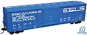 WalthersMainline 2169 HO 50 Ft ACF Exterior-Post Boxcar - Ready to Run - Escanaba and Lake Superior No.9009