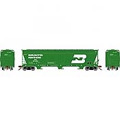 Athearn Genesis G15820 - HO ACF 4600 3-Bay Centerflow Hopper - Burlington Northern #481265