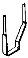A-Line Product 29002 - HO Stirrup Steps (Style C) - 25pcs