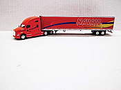 Trucks n Stuff TNS120 - HO Kenworth T680 Sleeper-Cab Tractor - 53ft Reefer Trailer - Navajo