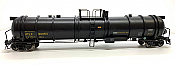 Broadway Limited 6318 - HO Cryogenic Tank Car - UTLX, Black (2pkg)