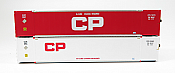 Rapido 402009 HO 53 Ft High-Cube Container - Canadian Pacific – Current (CPPU 535463 and CPPU 732376)(2-pack)