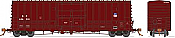 Rapido 137008-F HO Scale - B-100-40 Boxcar: SP/UP Shield Repaint - Single Car #TBA