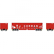 Athearn 14261 HO RTR 40ft OB Ballast Hopper/Load RJ Corman No.76941