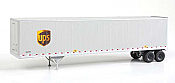 SceneMaster UPS 53ft Stoughton Trailer 2Pk