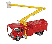 Walthers SceneMaster HO 11742 International(R) 4300 Tree Trimmer Truck - Assembled  - Red