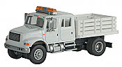 Walthers 11894 HO SceneMaster - International(R) 4900 Open Stake Bed Utility Truck - Assembled