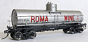 Tangent Scale Models 19120-04 HO - GA 1917-Design 8000 Gal. Insulated Tank Car - GATX -Roma Wine California- 1940+ #4591