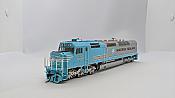 Athearn Genesis G63991 HO Scale - SDP40F - DCC & Sound - BNSF/ Maersk #6976