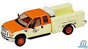 RiverPoint HO 5385321S3 Ford F450 XLT SuperCab Dual Rear Wheel Fleet Service Truck United Transit Orange, Creme