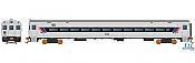 Rapido 128513 - HO Scale Comet Commuter Car - NJT Set 1