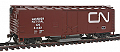 Walthers Trainline 1481 HO Track Cleaning Boxcar - Canadian National