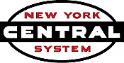 Stoddarts Ltd. NYC - 3D Railroad Wall Artwork - New York Central Logo
