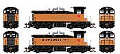 Rapido 27536 HO EMD SW1200 -DC/DCC/Sound - Milwaukee Road #646 - Pre-order