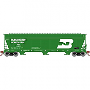 Athearn Genesis G15818 - HO ACF 4600 3-Bay Centerflow Hopper - Burlington Northern #481201