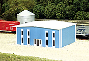 Pikestuff 8010 - N Two-Story Modern Office Building (Scale: 50 x 40ft) - Blue