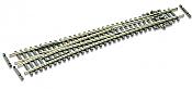 Peco SLE389F - N Scale Code 55 Streamline Electrofrog #8 Turnout - Long 36inch Radius - Left Hand Turnout
