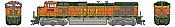 Athearn G31614 HO Scale - G2 Dash 9-44CW Diesel, DCC & Sound - BNSF Railway H2 #5009