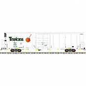 Atlas Model Railroad 20005316 HO Master Line 64ft Trinity Reefer Tropicana (Safety Stripes No.1) No.3041