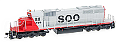 Intermountain Railway 49339S-02 Diesel EMD SD40-2 - ESU LokSound DCC & Sound - Soo Line #759