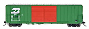 Intermountain Railway  HO FMC 5283 Cubic Foot Double Door Boxcar - Burlington Northern No.223957