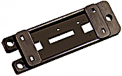 Peco 9 HO PL-9 Mounting Plates For PL-10 Series Turnout Motors  - pkg(5)