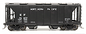 Intermountain 48689-05 HO 1958 Cu Ft 2 Bay Covered  Hopper- Closed Sides - Northern Pacific #75111