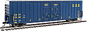 Walthers 2913 HO 60ft High Cube Plate F Boxcar CSX #173551