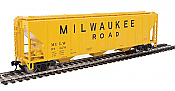 Walthers Mainline 7470 - HO 50ft PS-2 CD 4427 Covered Hopper - Milwaukee Road #98713