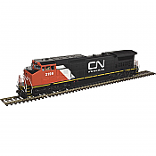 Atlas 10 002 281 HO Dash 8-40CW Locomotive DCC ready Silver Canadian National #2172