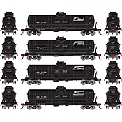 Athearn RND2155 - HO Single-Dome Tank Car - NATX (4pk)