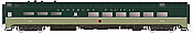 Rapido Trains 124046 HO Scale Pullman-Standard Lightweight Diner Northern Pacific #450 Pre Order