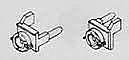 """Details West Ditch Lights - W/Lenses - Pilot-End Mount """"GE"""" """"EMD"""""""