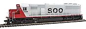 WalthersMainline 19758 HO EMD SD60 Spartan Cab -DCC & Sound -  Soo Line #6036