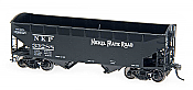 Intermountain Railway 47157-06 HO AAR Alternate Standard 2-Bay Hoppers w/Arch End - Nickel Plate Road 33324