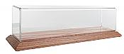 "Clear Case - Display Case - Light Oak 13"" 33 cm"