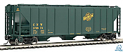 Walthers Mainline HO 7273 54Ft P-S 4427 CD Covered Hopper Chicago and North Western No.170681