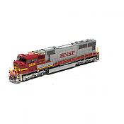 Athearn Genesis 69220 HO SD75I Burlington Northern Santa Fe BNSF 8288