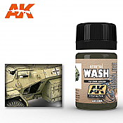 AK Interactive 66 DAK Vehicle Wash Enamel Paint 35ml