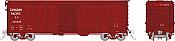 Rapido 142104-6 - HO USRA CPR Clone Boxcar: Canadian Pacific - Late #236985