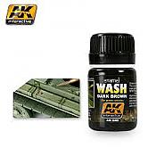 AK Interactive Wash : Dark Brown