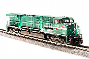 Broadway 3748 N Scale GE AC6000 With Rolling Thunder DCC & Sound GE Demo #6000 Green Machine