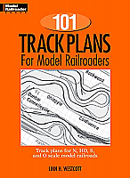 Kalmbach Publishing Co Book 101 Track Plans for Model Railroaders