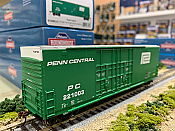 Athearn RND88142 HO Scale - 50Ft High Cube Double Door Plug Box - Penn Central #221000