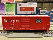 Athearn RTR 67459 HO - 40 Ft Modernized Box - CB&Q#44160