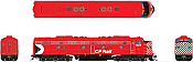 Rapido 28015 HO - EMD E8A (DC/Silent) CP Rail - Action Red #1800