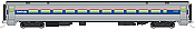 WalthersMainline 31001 HO Scale - RTR 85 ft Horizon Fleet Coach - Amtrak (Phase IV)